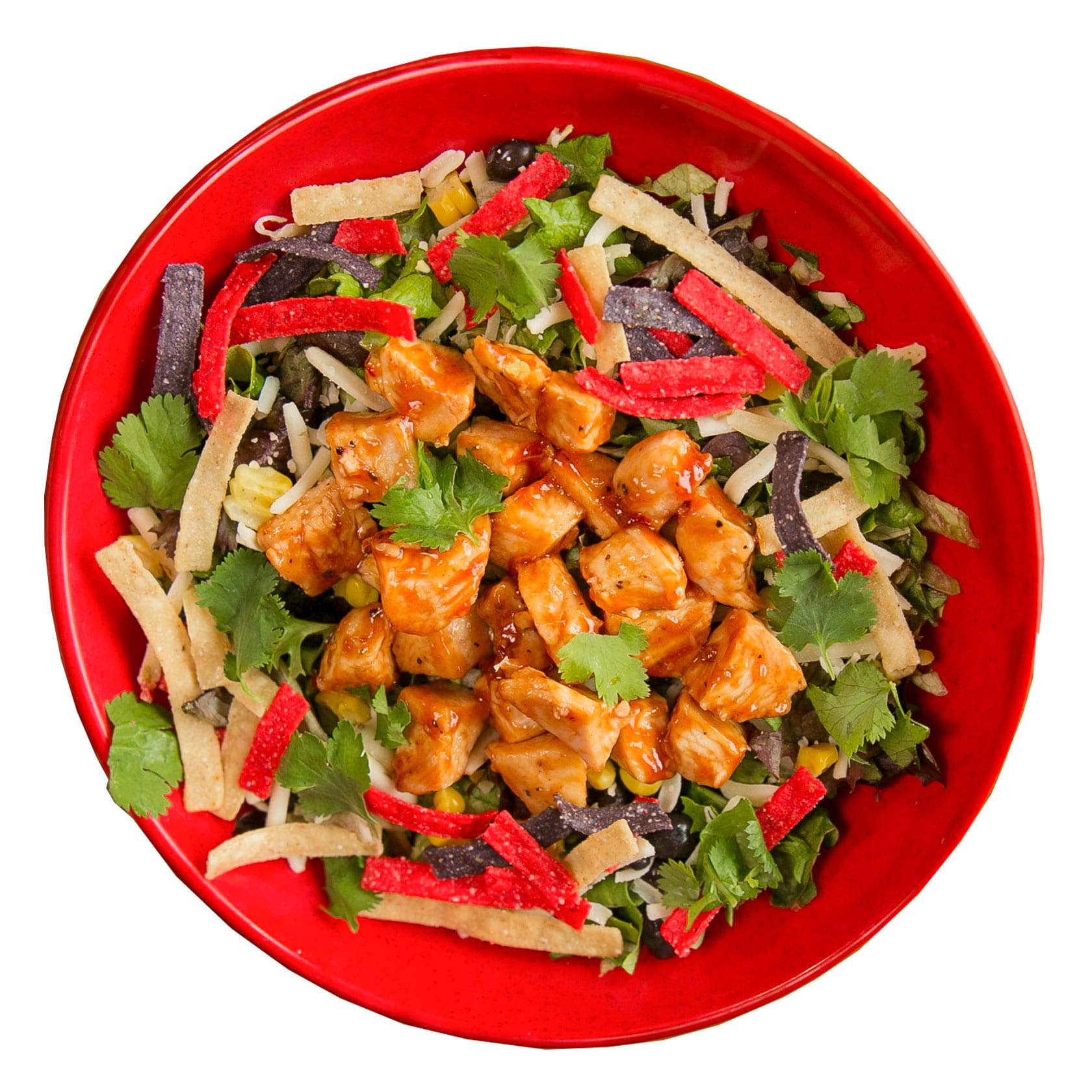 Crushed Red BBQ Chicken Urban Crafted Salad
