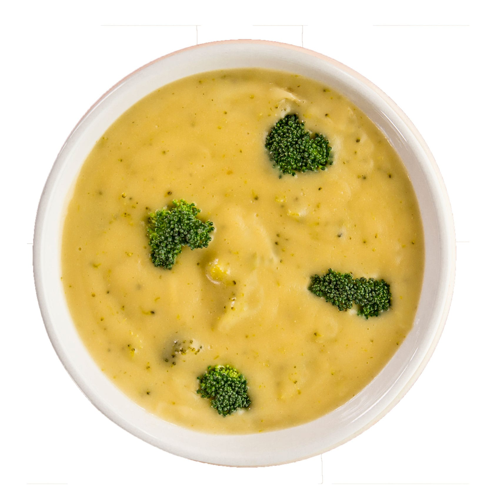 Crushed Red Broccoli Cheddar Soup