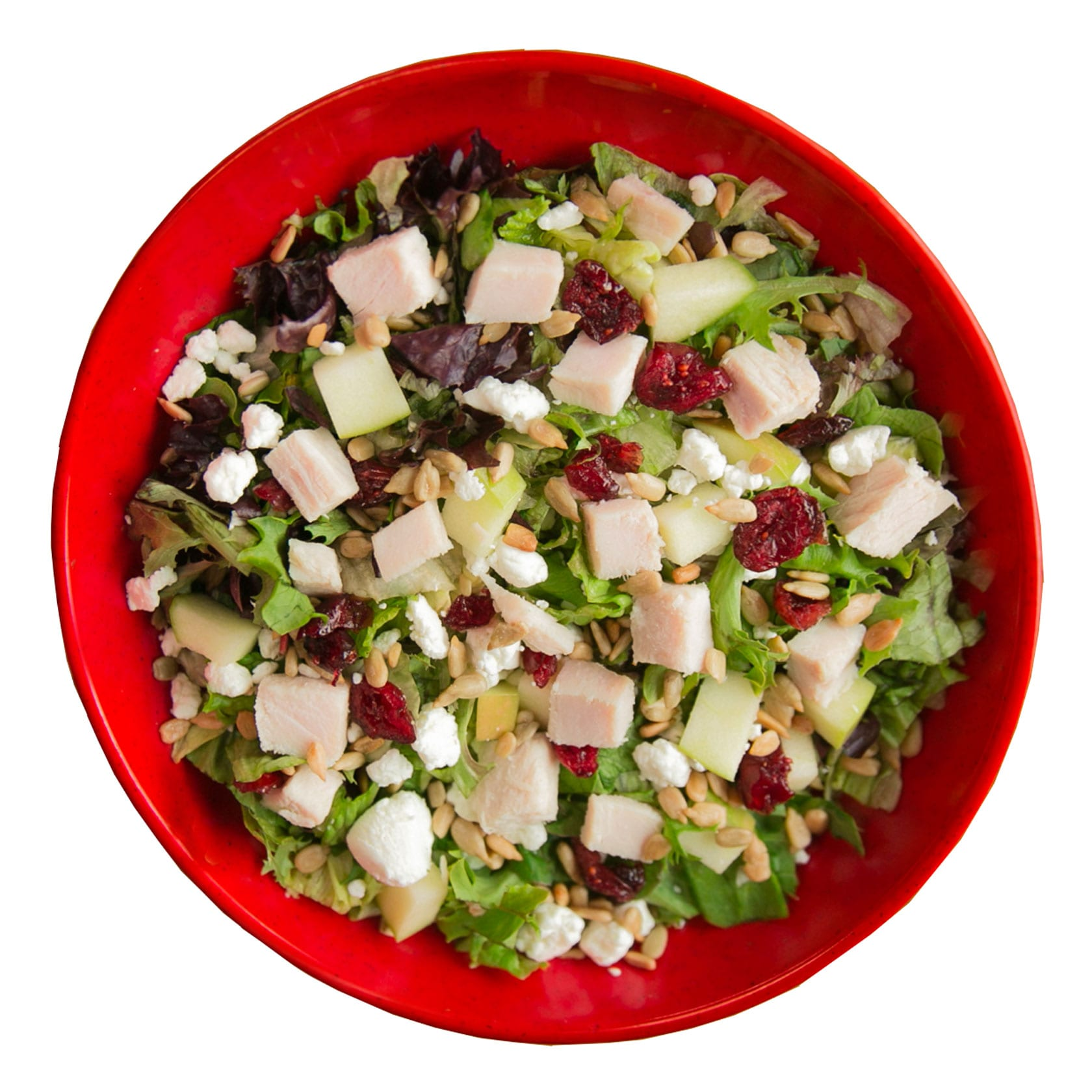 Crushed Red Farmers Market Urban Crafted Salad