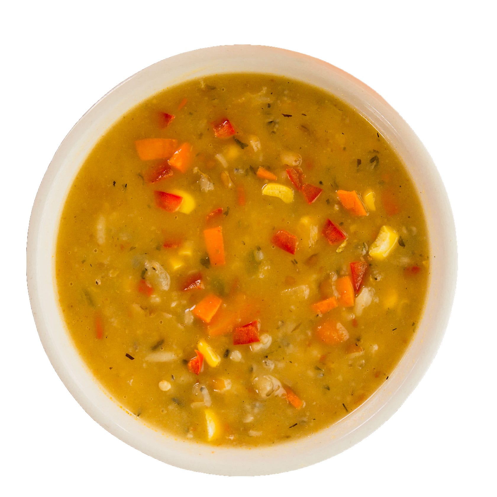 Crushed Red Harvest Grain Soup