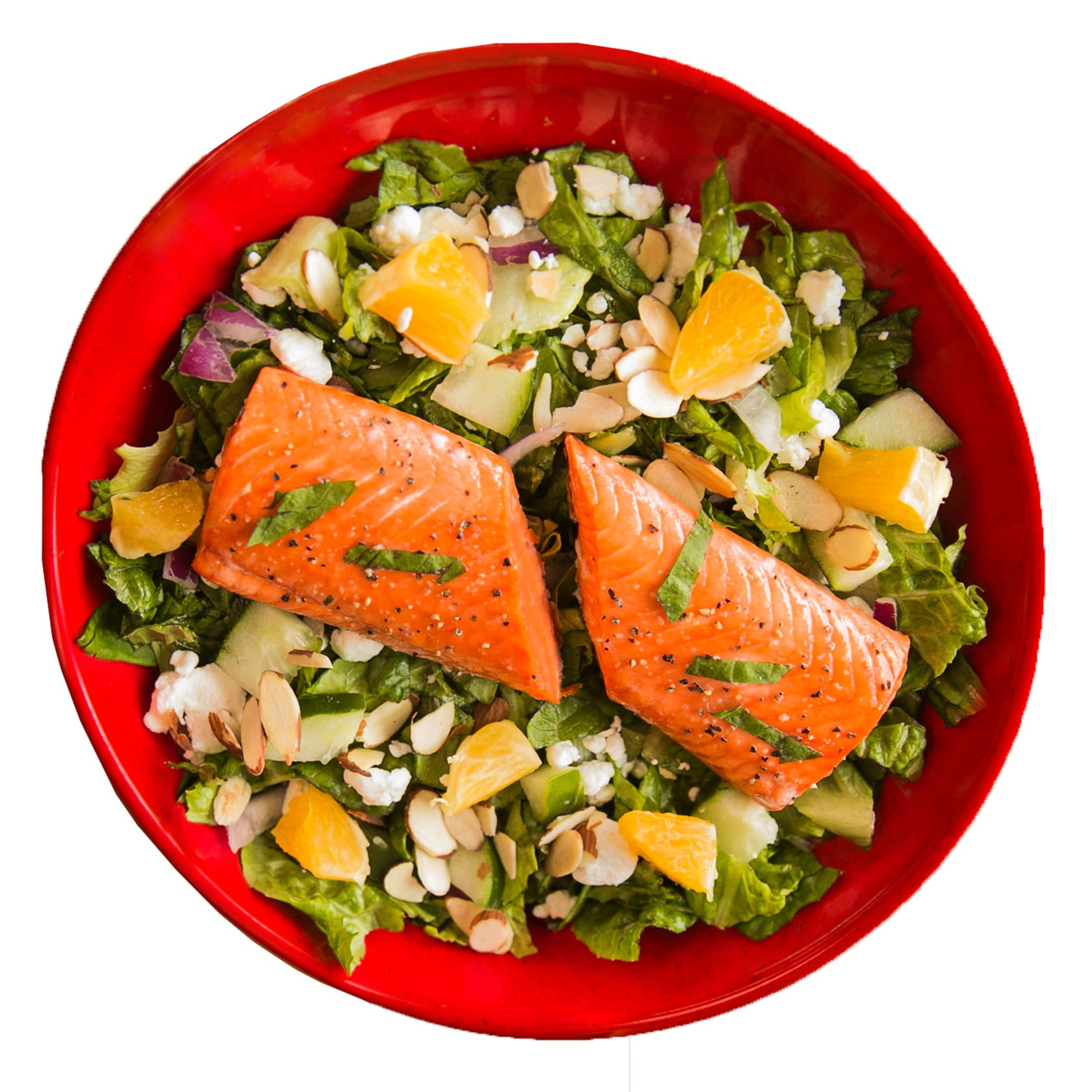Crushed Red Wild Spring Salmon Urban Crafted Salad