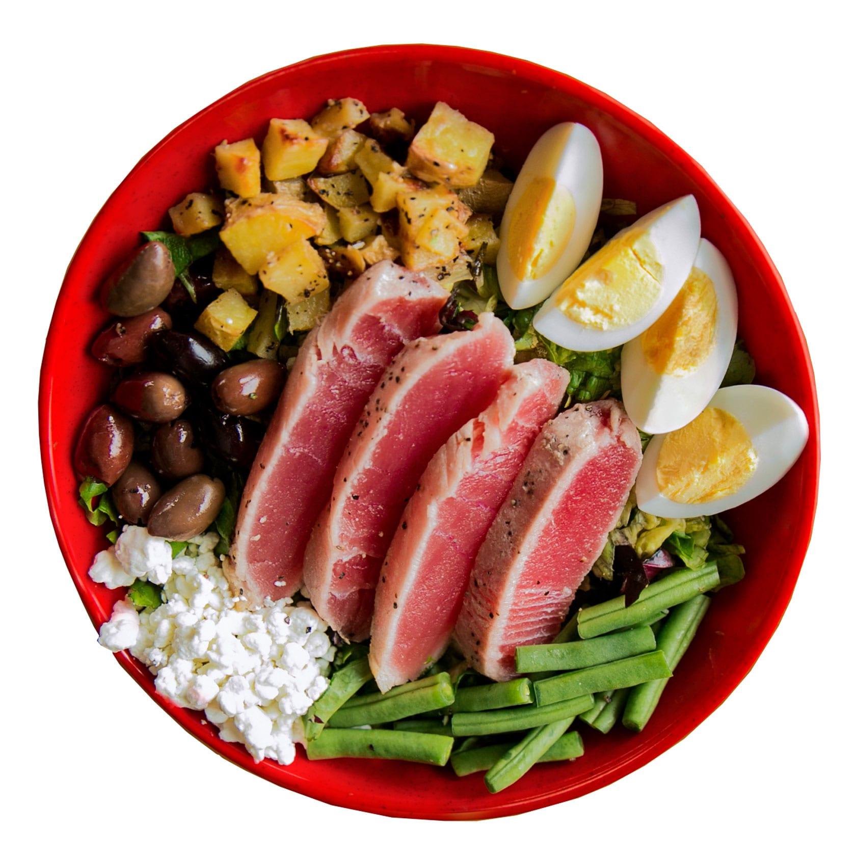 Crushed Red Tunapalooza Urban Crafted Salad